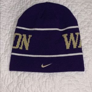 Nike Washington huskies beanie*